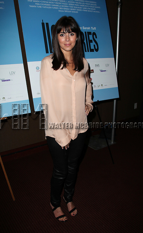 Jamie-Lynn Sigler.attending the Reception for '110 Stories' Celebrity Reading in New York City.