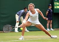 ANNA-LENA FRIEDSAM (GER)<br /> <br /> The Championships Wimbledon 2014 - The All England Lawn Tennis Club -  London - UK -  ATP - ITF - WTA-2014  - Grand Slam - Great Britain -  23rd June 2014. <br /> <br /> © J.Hasenkopf / Tennis Photo Network