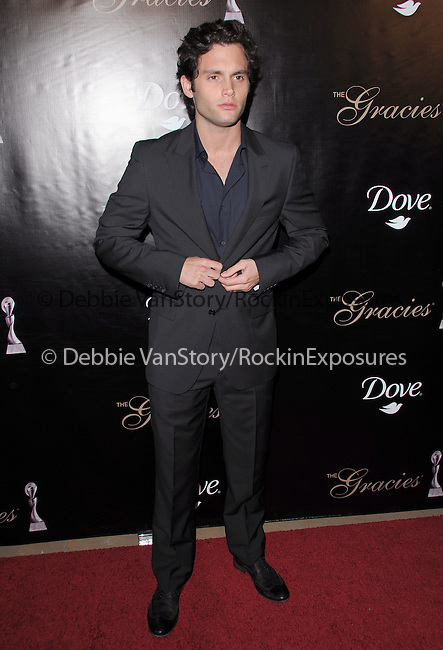 Penn Badgley at the Gracie Awards Gala held at The Beverly Hilton Hotel in Beverly Hills, California on May 25,2010                                                                   Copyright 2010  DVS / RockinExposures