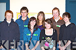 Liam Lachs Killarney, Graham Dundou Caherciveen, Katie Moriarty Caherciveen, Bev Kirwan KDYS Youth worker, Siobhain O'Neill Caherciveen, Willie O'Toole Killarney and Matthew Griffin Killarney   Copyright Kerry's Eye 2008