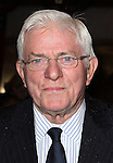 Phil Donahue.attending the Broadway Opening Night Performance of.'Gore Vidal's The Best Man' at the Gerald Schoenfeld Theatre in New York City on 4/1/2012