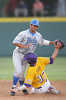 June 5, 2010: Tyler Rahmatulla of UCLA during NCAA Regional game against LSU at Jackie Robinson Stadium in Los Angeles,CA.  Photo by Larry Goren/Four Seam Images