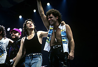 Journey performs in Chicago, Illinois. October 4th,1986  <br /> CAP/MPI/GA<br /> &copy;GA//MPI/Capital Pictures