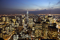 """Top Of The Rock Observation Deck - the Best Views of New York City from Rockefeller Center. Rockefeller Building or """" The Rock"""" as it is better know in New York City is a tourist favorite."""