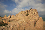 Israel, Coastal Plain, Ashdod Yam archaeological site on the Mediterranean coast