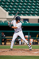 Detroit Tigers Luke Sherley (65) at bat during a Florida Instructional League game against the Pittsburgh Pirates on October 6, 2018 at Joker Marchant Stadium in Lakeland, Florida.  (Mike Janes/Four Seam Images)