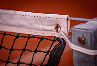 Almere, The Netherlands, August 24, 2018,  National Tennis Center, tennis net with post(NED)<br /> Photo: Tennisimages/Henk Koster