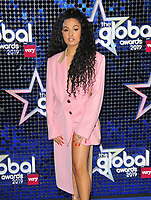 Mabel (Mabel McVey) at the Global Awards 2019, Hammersmith Apollo (Eventim Apollo), Queen Caroline Street, London, England, UK, on Thursday 07th March 2019.<br /> CAP/CAN<br /> &copy;CAN/Capital Pictures