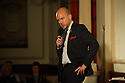 Harrogate, UK. 13.09.2012. Sitting Room Comedy presents Tom Allen, Paul F. Taylor and Mitch Benn, with MC Tom Taylor. Picture shows: Tom Allen. Photo credit: Jane Hobson