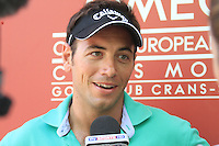 Nick Dougherty (ENG) on the 9th on the 1st day of the Omega European Masters, Crans-Sur-Sierre, Crans Montana, Switzerland..Picture: Golffile/Fran Caffrey..