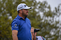 Graeme McDowell (NIR) watches his tee shot on 10 during day 3 of the Valero Texas Open, at the TPC San Antonio Oaks Course, San Antonio, Texas, USA. 4/6/2019.<br /> Picture: Golffile | Ken Murray<br /> <br /> <br /> All photo usage must carry mandatory copyright credit (&copy; Golffile | Ken Murray)