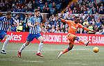 19.05.2019 Kilmarnock v Rangers: Jermain Defoe has a chance towards the end