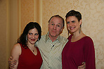 Elissa Goldstein and Candice Holdorf (both star in An Affirmative Act!) pose with Jackie Martling, new spokesperson & host of the Hoboken International Film Festival and the new indie film An Affirmative Act! - a groundbreaking gay marriage courtroom drama on January 21, 2010 at the Marriott Saddle Brook, Saddle Brook, NJ. (Photo by Sue Coflin/Max Photos)