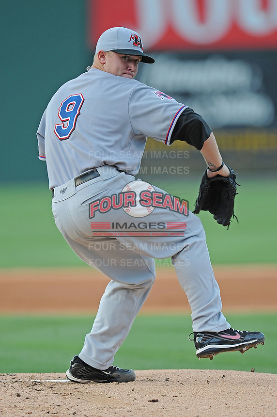 Hickory Crawdads Robbie Ross South Atlantic League All Star Game at Fluor Field in Greenville, South Carolina June 22, 2010.   The game ended in a 5-5 tie.  Photo By Tony Farlow/Four Seam Images