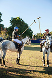 MEXICO, San Pancho, San Francisco, La Patrona Polo Club, players prepare for the first match of the day