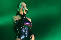 SAO PAULO,SP - 01.05.2017 - SHOW-SP - Show da cantora Anitta ao lado do cantor colombiano Maluma no Espaço das Americas localizado no bairro da Barra Funda região oeste da cidade de Sao Paulo. (Foto: Eduardo Martins / Brazil Photo Press)