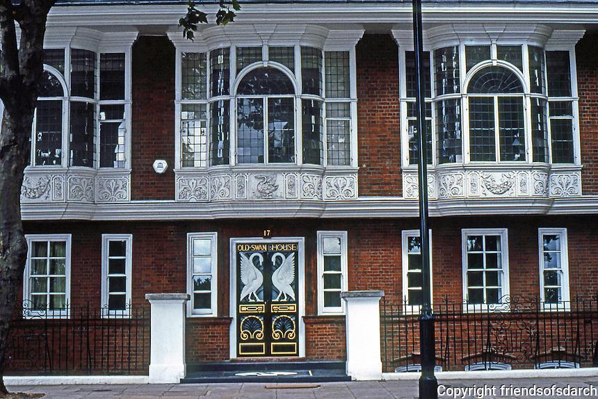 London Chelsea Swan House R Norman Shaw 1876 17