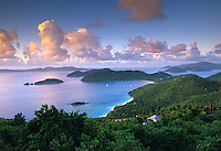 View of Cinnamon Bay<br /> Virgin Islands National Park<br /> St. John, U.S. Virgin Islands