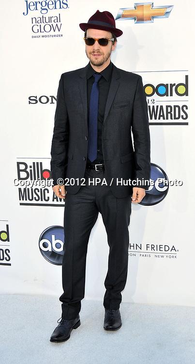 LAS VEGAS - MAY 20:  Gavin Degraw at the 2012 Billboard Music Awards at the MGM Grand Garden Arena on May 20, 2012 in Las Vegas, NV