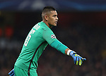 PSG's Alphonse Areola in action during the Champions League group A match at the Emirates Stadium, London. Picture date November 23rd, 2016 Pic David Klein/Sportimage