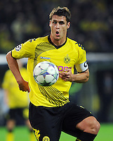 FUSSBALL   CHAMPIONS LEAGUE   SAISON 2011/2012  Borussia Dortmund - Arsenal London        13.09.2001 Sebastian KEHL (Borussia Dortmund) Einzelaktion am Ball