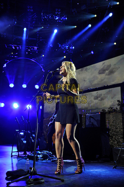 LONDON, ENGLAND - SEPTEMBER 21: Crissie Rhodes of 'The Shires' performing at Apple Music Festival, Camden Roundhouse on September 21, 2015 in London, England.<br /> CAP/MAR<br /> &copy; Martin Harris/Capital Pictures
