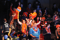 SCHAATSEN: DORDRECHT: Sportboulevard, Korean Air ISU World Cup Finale, 10-02-2012, publiek, shorttrackfans, ©foto: Martin de Jong