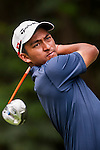 Leon Phillip D'Souza of Hong Kong in action during the 9th Faldo Series Asia Grand Final 2014 golf tournament on March 19, 2015 at Faldo course in Mid Valley clubhouse in Shenzhen, China. Photo by Xaume Olleros / Power Sport Images
