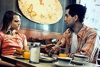 Taxi Driver (1976)<br /> Robert De Niro &amp; Jodie Foster<br /> *Filmstill - Editorial Use Only*<br /> CAP/KFS<br /> Image supplied by Capital Pictures