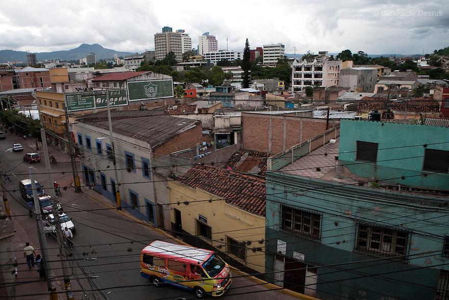 8 July 2009 - Tegucigalpa, Honduras  A view of Tegucigalpa, capital of Honduras. Photo credit: Benedicte Desrus