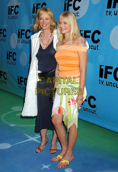 VIRGINIA MADSEN & CARLY SCHROEDER.IFC's Post Spirit Awards Celebration held at Shutters on the Beach, Santa Monica, California, 26 February 2005..full length.Ref: ADM.www.capitalpictures.com.sales@capitalpictures.com.©LFarr/AdMedia/Capital Pictures .