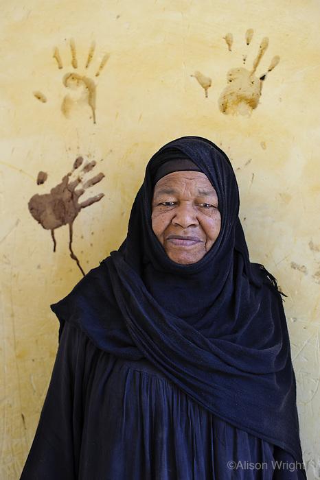 Kupa, Nubian woman in Betlelkerem, Nubian Village, Aswan