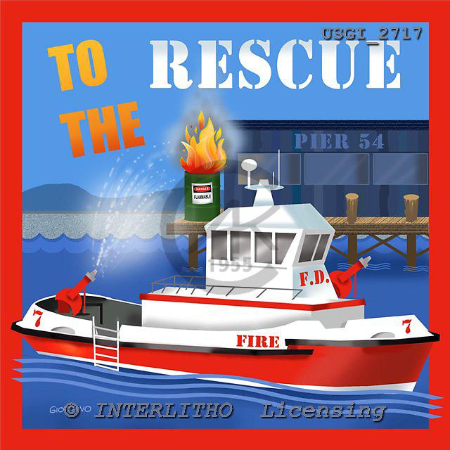 GIORDANO, TEENAGERS, JUGENDLICHE, JÓVENES, paintings+++++,USGI2717,#J# rescue ,everyday