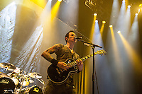 Trivium performing at Rod Laver Arena, Melbourne, 1 March 2012