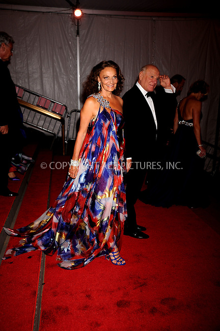 WWW.ACEPIXS.COM . . . . .....May 5, 2008. New York City.....Designer Diane Von Furstenberg leaves the 'Superheroes: Fashion and Fantasy' Costume Institute Gala at The Metropolitan Museum of Art...  ....Please byline: Kristin Callahan - ACEPIXS.COM..... *** ***..Ace Pictures, Inc:  ..Philip Vaughan (646) 769 0430..e-mail: info@acepixs.com..web: http://www.acepixs.com