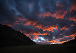 Clouds at Sunset, Cordillera Huayuash, Peru