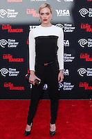 ANAHEIM, CA - JUNE 22: Peta Murgatroyd attends The World Premiere of Disney/Jerry Bruckheimer Films' 'The Lone Ranger' at Disney California Adventure Park on June 22, 2013 in Anaheim, California. (Photo by Celebrity Monitor)