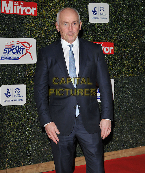 Barry McGuigan attends the Daily Mirror Pride of Sport Awards 2015, Grosvenor House Hotel, Park Lane, London, England, UK, on Wednesday 25 November 2015. <br /> CAP/CAN<br /> &copy;Can Nguyen/Capital Pictures