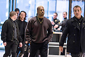 Musician Kanye West arrives at Trump Tower in Manhattan, New York, U.S., on Tuesday, December 13, 2016. <br /> Credit: John Taggart / Pool via CNP