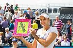 Nederland, Rosmalen, 23 juni 2012.Seizoen 2011/2012.Tennis Unicef open 2012.Urszula Radwanska uit Polen wint het Unicef Open 2012