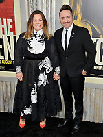 "LOS ANGELES, USA. August 06, 2019: Melissa McCarthy & Ben Falcone at the premiere of ""The Kitchen"" at the TCL Chinese Theatre.<br /> Picture: Paul Smith/Featureflash"