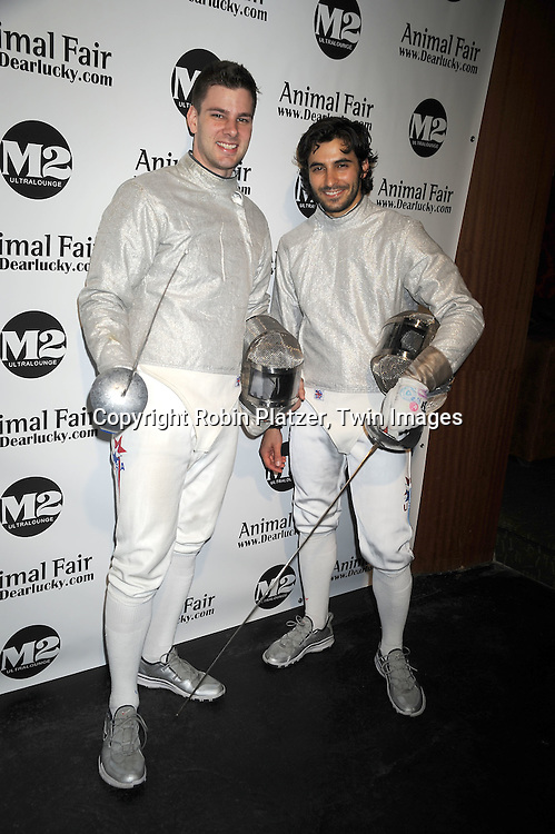Olympic fencers Tim Morehouse and Jason Rogers