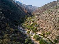 On the road from Oaxaca to Puebla, Oaxaca, Mexico