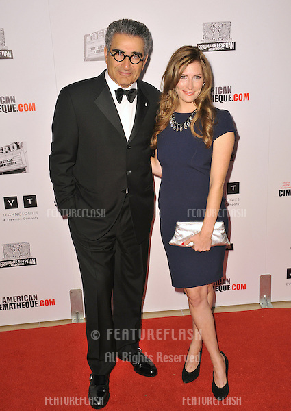 Eugene Levy & daughter Sarah at the 26th Annual American Cinematheque Awards Ceremony honoring Ben Stiller at the Beverly Hilton Hotel..November 15, 2012  Beverly Hills, CA.Picture: Paul Smith / Featureflash