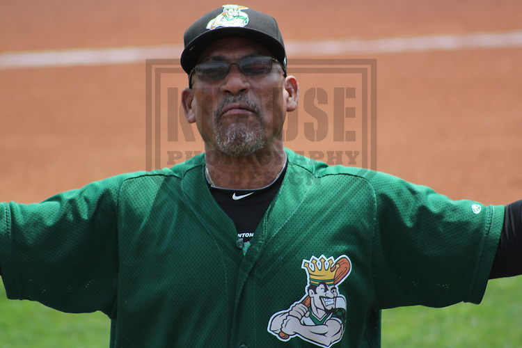 CEDAR RAPIDS - June 2012: Tommy Cruz (3) of the Clinton LumberKings, Class-A affiliate of the Seattle Mariners, during a game against the Cedar Rapids Kernels on June 11, 2012 at Perfect Game Field at Veterans Memorial Stadium in Cedar Rapids, Iowa. (Photo by Brad Krause). ..