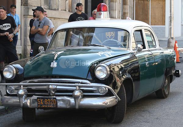 PATERSON, NJ - SEPTEMBER 3: West Side Story film set in Paterson, New Jersey on September 3, 2019. Credit: John Barrett/PhotoLink/MediaPunch