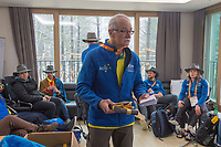 Home / Nick Dean <br /> PyeongChang 2018 Paralympic Games<br /> Australian Paralympic Committee<br /> Sydney International Airport<br /> PyeongChang South Korea<br /> Tuesday March 20th 2018<br /> © Sport the library / Jeff Crow
