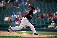 Rochester Red Wings relief pitcher Alex Wimmers (19) during a game against the Durham Bulls on July 20, 2016 at Frontier Field in Rochester, New York.  Rochester defeated Durham 6-2.  (Mike Janes/Four Seam Images)