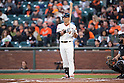 Norichika Aoki (Giants),<br /> MAY 7, 2015 - MLB : Norichika Aoki of the San Francisco Giants at bat against the Miami Marlins during the Major League Baseball game at AT&amp;T Park in San Francisco, California, United States.<br /> (Photo by Thomas Anderson/AFLO) (JAPANESE NEWSPAPER OUT)