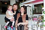 Olivia O'Dowd, aaron O'Dowd and Jamie O'Sullivan Castlemaine at the Killarney Heights hotel wedding fair on Sunday
